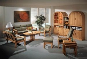 The photo shows: 1230 easy chair w/Comfort 9080 1230H high back chair w/Comfort 9080 1230FS footstool w/Comfort 9080 1230A/2 2-seater sofa w/Comfort 9080 1230A/3  3-seater sofa w/Comfort 9080 9256 coffee table 9256E end table 8312 nest of tables 1190A wall unit