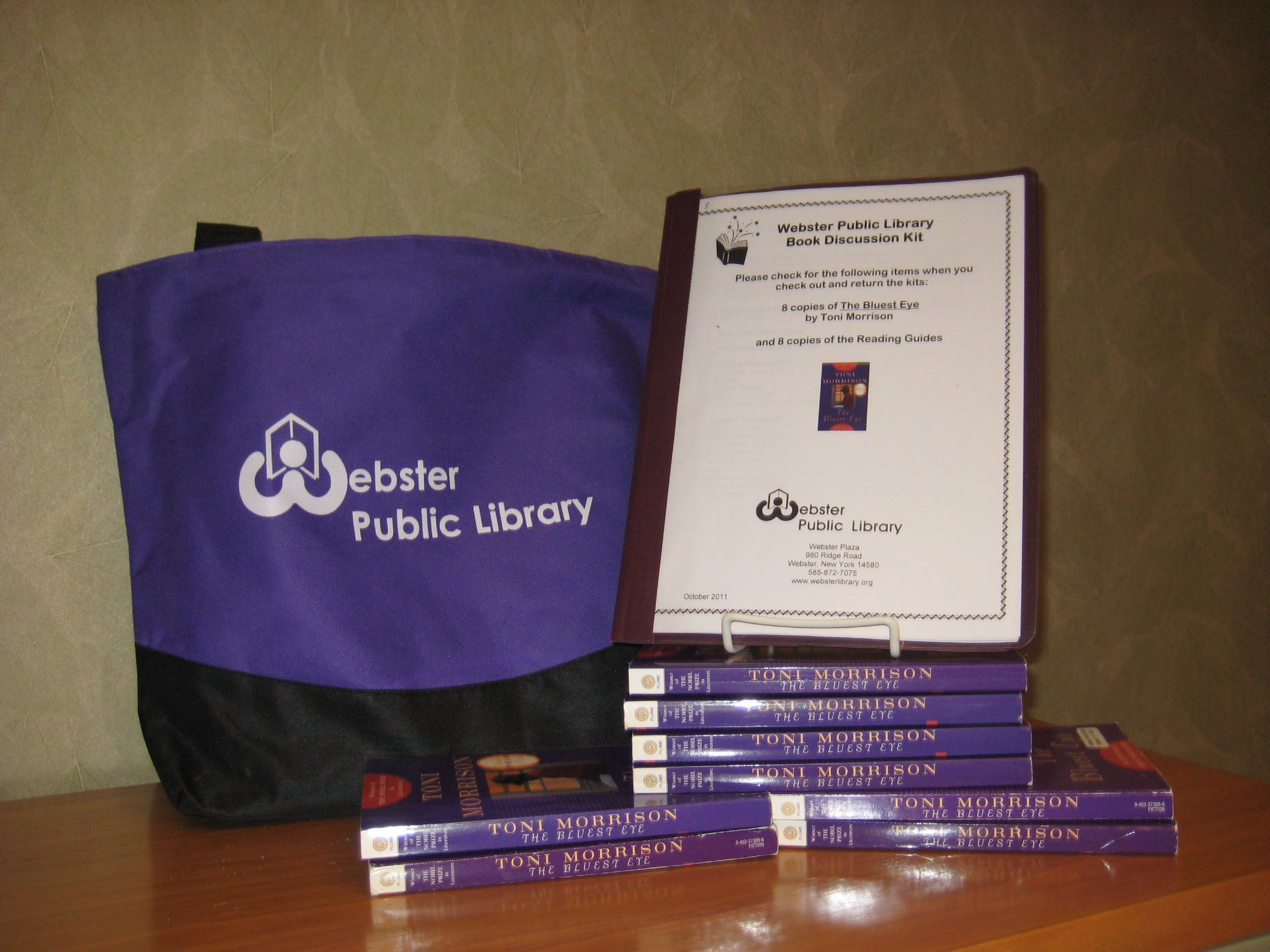 Books, a discussion manual and a bag to carry it all home in!