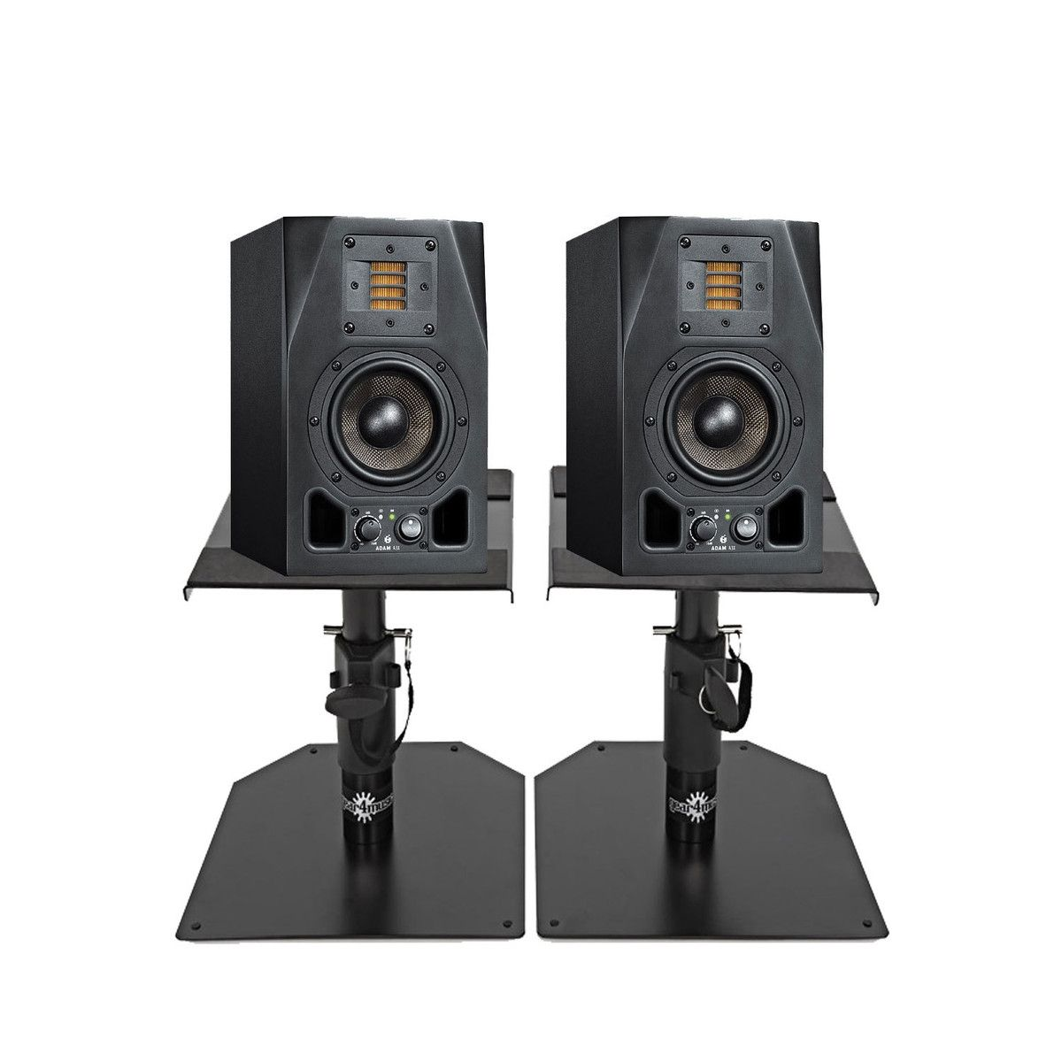 Best Gorilla Gsm 50 Desktop Studio Monitor Stands Pair Throughout Size 1000 X Desk With Many Tasks In The Cur Market Requi