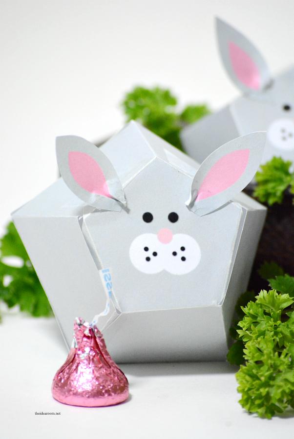 Easter printable free printable easter bunny box template make easter printable free printable easter bunny box template make your own easter gift or negle Choice Image