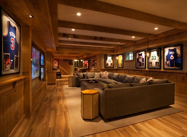 Basement Design Ideas 1 tag contemporary basement Basement Ideas Basement Design Basement Basementideas Basementdecor Garrison Hullinger Interior Design