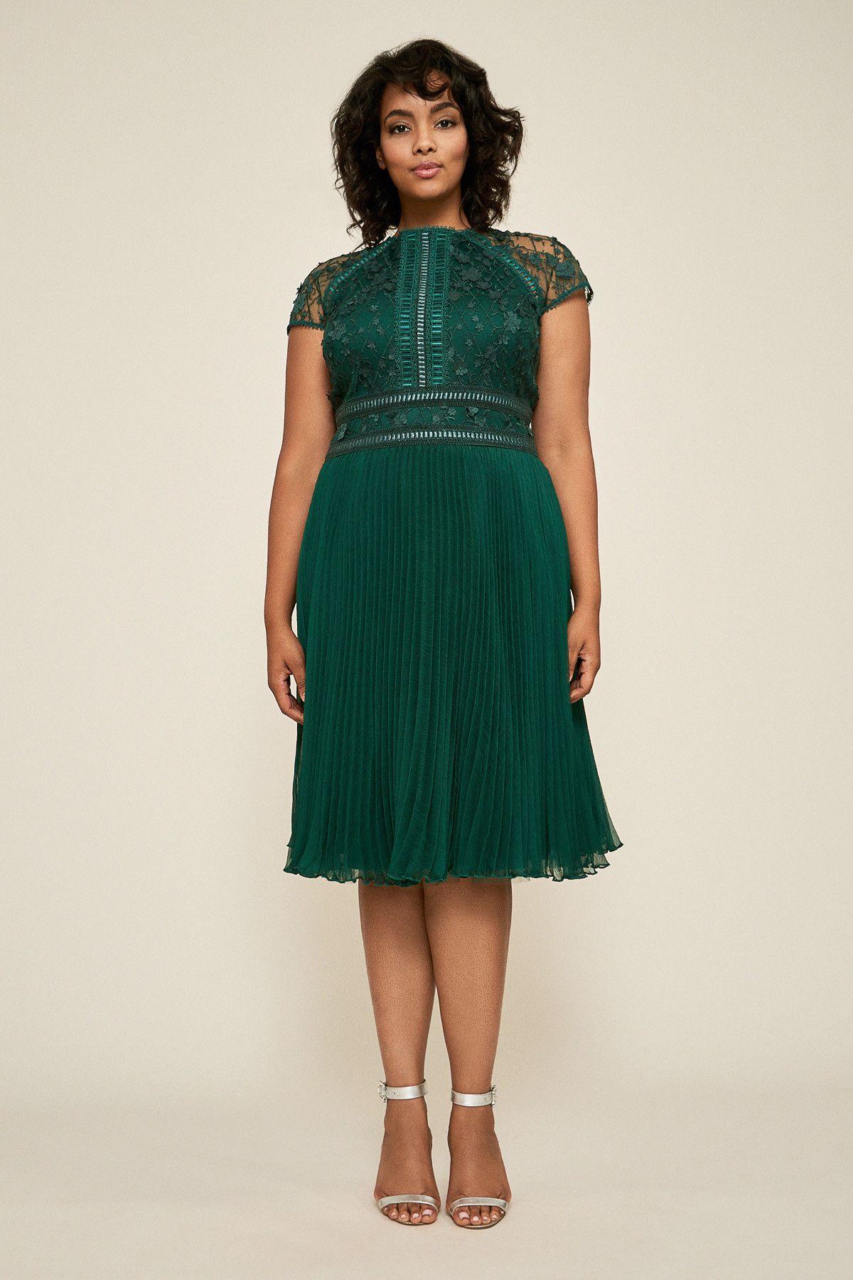 50d3d344c4 Zivan Flared Lace Dress - PLUS SIZE