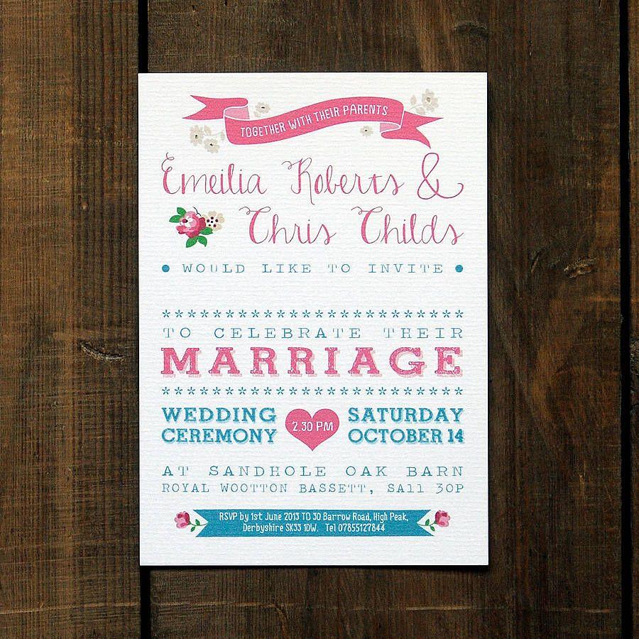 Vintage Country Wedding Invitation | Vintage country weddings ...