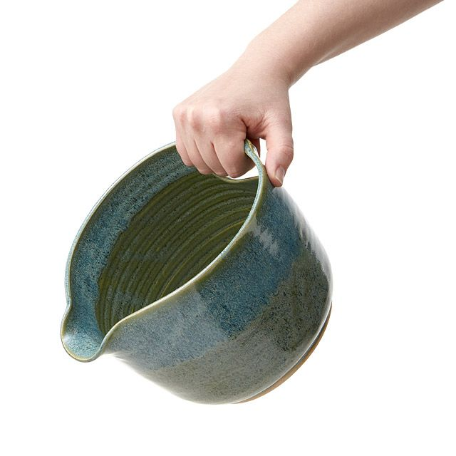From prep work to tabletop, these stoneware nesting bowls offers spouts to pour…