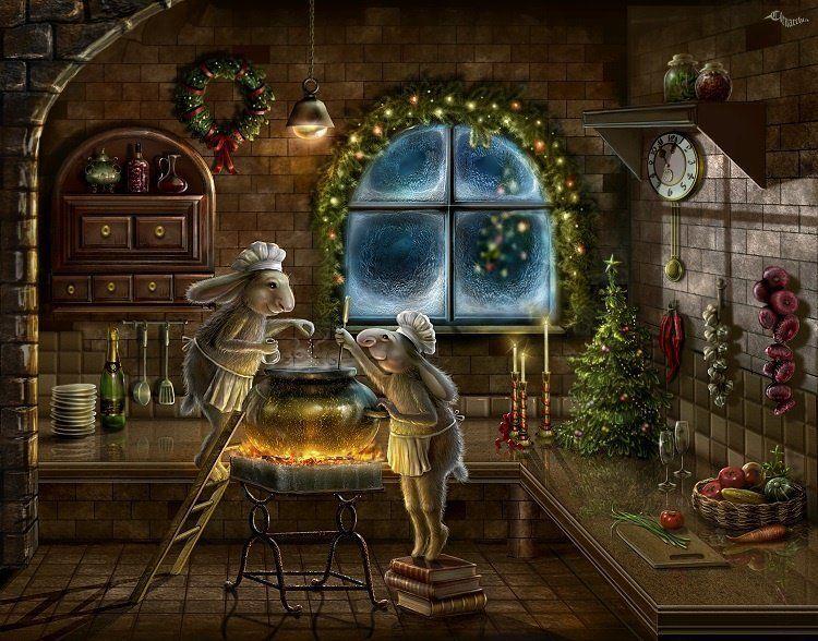 гифы картинки новый год мистические выступали различных клубах
