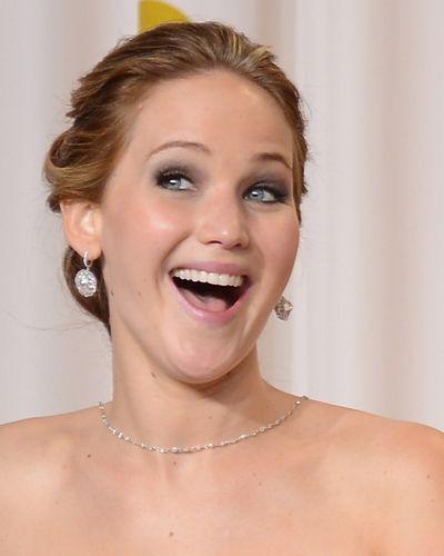 The Many Funny Faces of Jennifer Lawrence   Parade.com   Jennifer ...