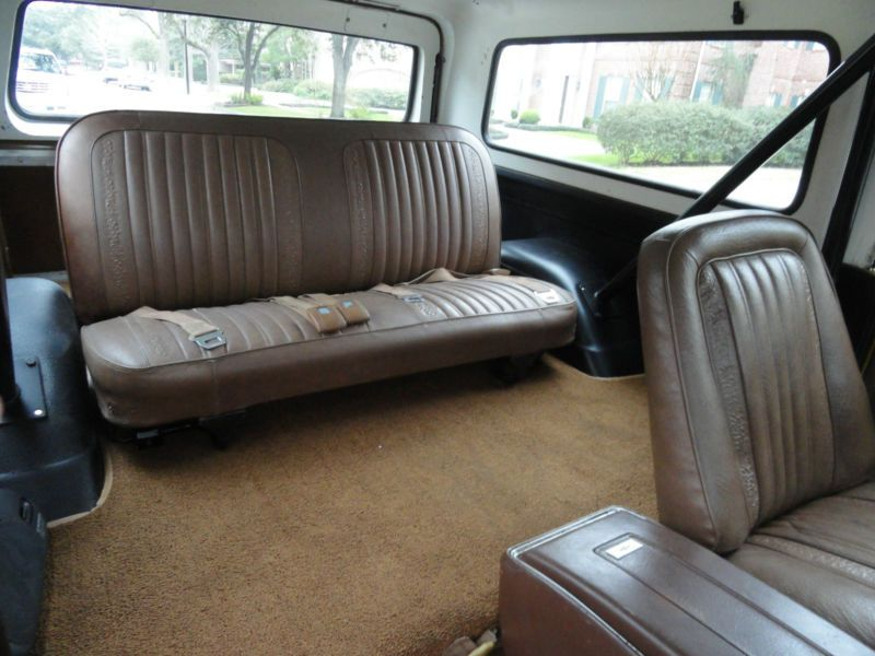 First Gen Bkazer In Ochre Interior K5 Blazer Chevy Blazer K5 Chevrolet