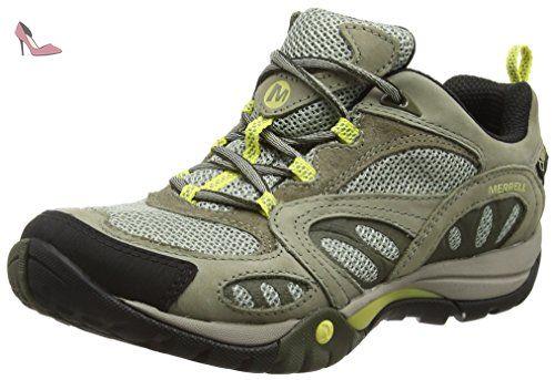 Merrell Azura - Chaussures de Randonnée Tige Basse Homme, Grau (FALCON), 38 EU