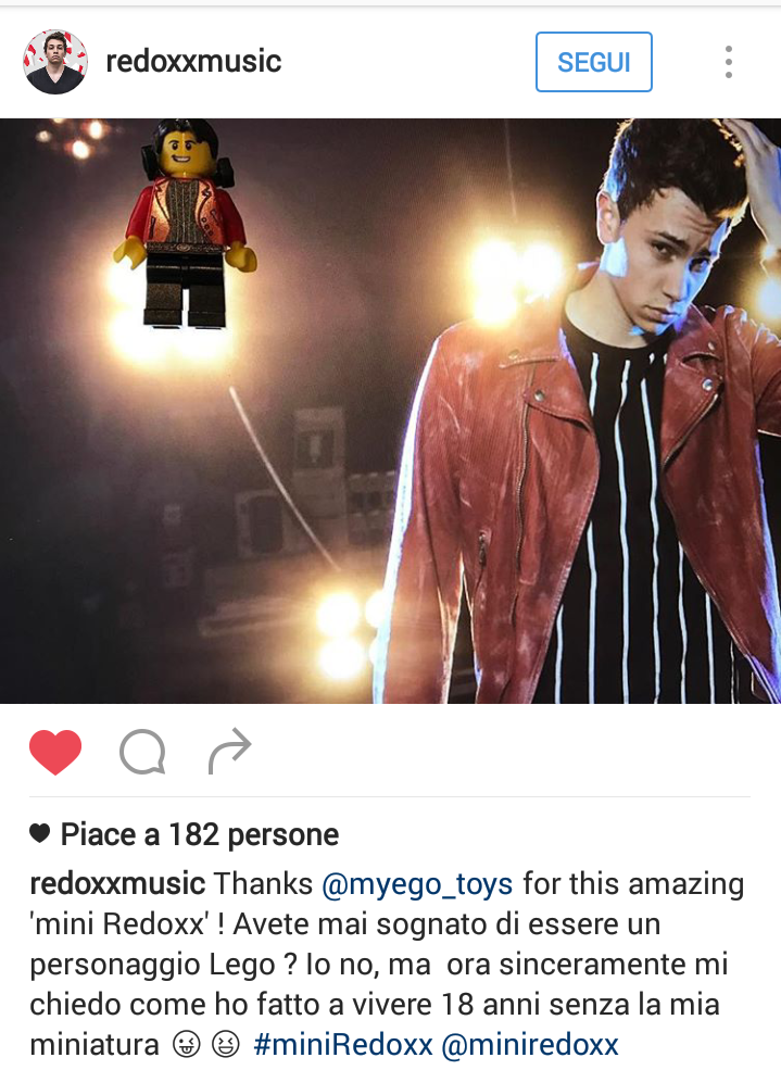 Su le mini-mani!  Redoxx, finalista di TOP DJ, è ufficialmente salito in console al MyEgo Club: a quanto pare, avere un mini-me è tutta un'altra musica per lui!