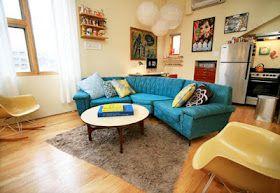 Combination room- livingroom/kitchen