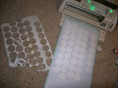 You can cut anything out onto freezer paper using your Cutting machine