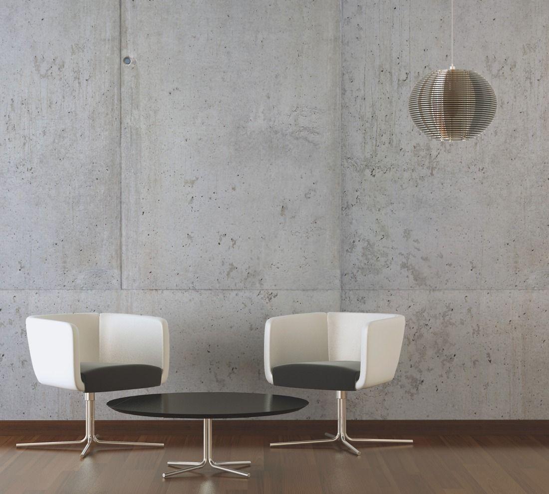architects paper fototapete «sichtbeton» 470126: beton, sichtbeton, Wohnzimmer