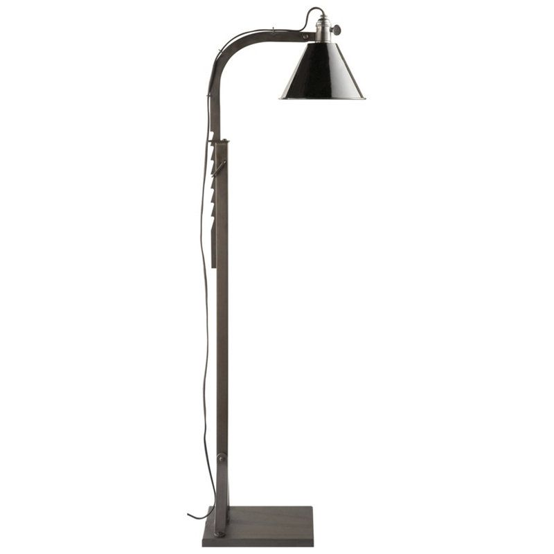 Ralph Lauren Ashcroft Floor Lamp Aged Iron FREE SHIPPING! www.PacificHeightsPlace.com | Lodge