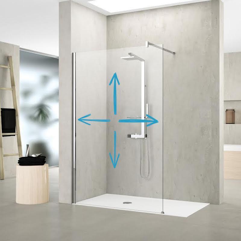 pare baignoire sur mesure acheter une paroi de douche fixe. Black Bedroom Furniture Sets. Home Design Ideas