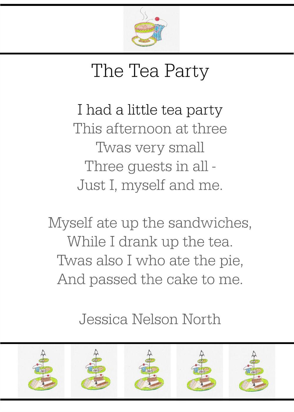 Tea poem