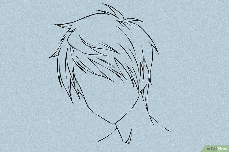 Photo of Draw anime hair