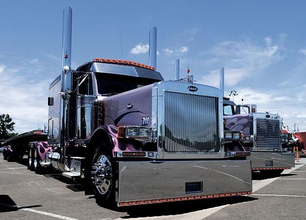 Truckers Give Public Access To Their Tricked Out Semi Trucks In