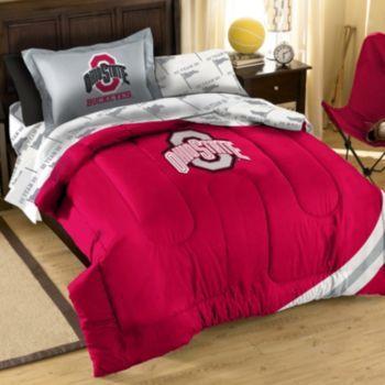 Ohio State Buckeyes 5 Piece Twin Bed Set Comforter Sets Twin
