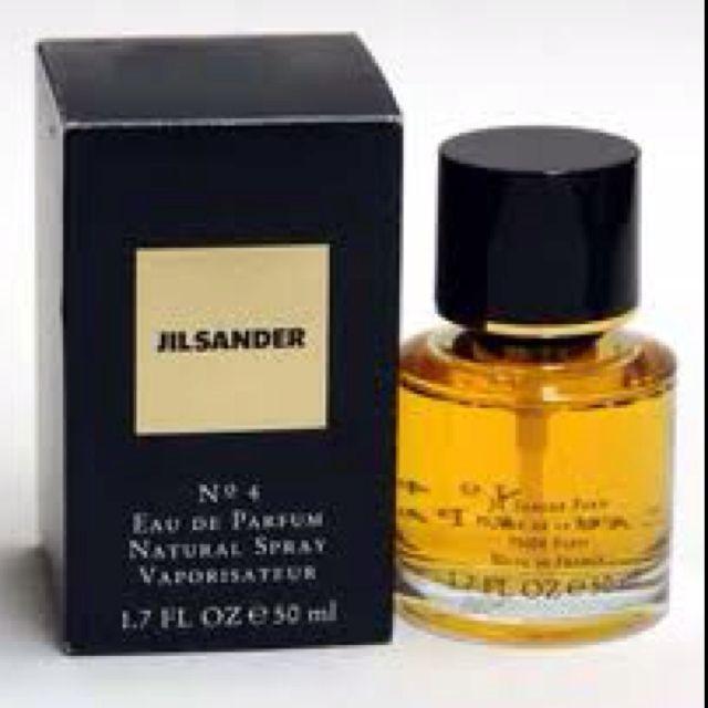 Jill Sander No 4 Eau De Parfum My Favourite Perfume Perfume Fragrance Bottle Fragrances Perfume