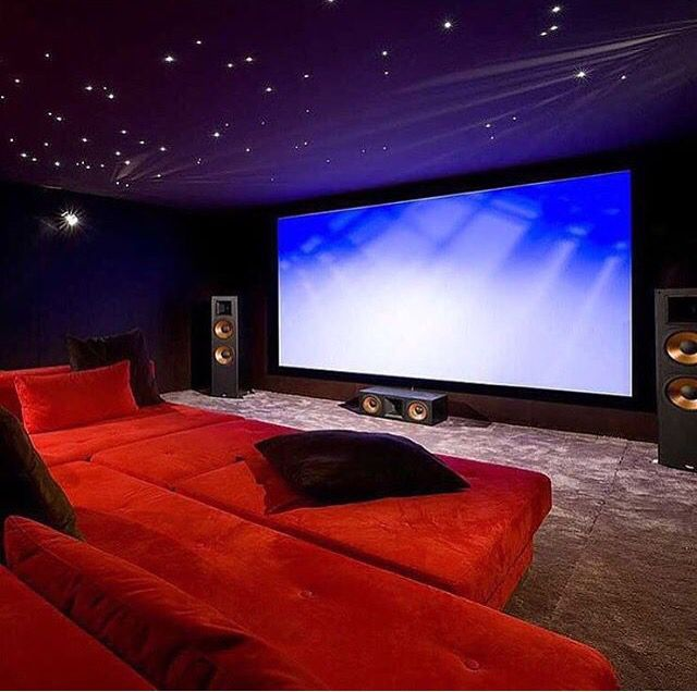 Cozy Home Theater: Home Cinema Room, Home Theater Rooms