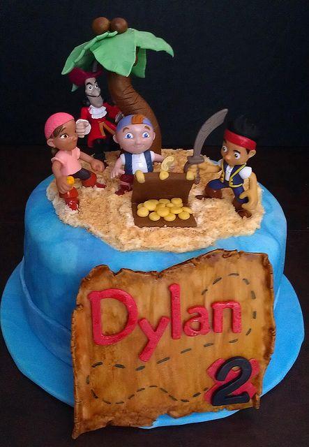 Landon S Birthday Cake Jake And The Neverland Pirates Cake