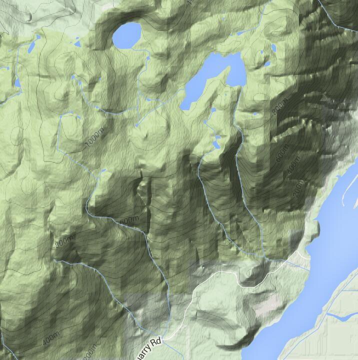 Munro Lake Dennett Lake near Port
