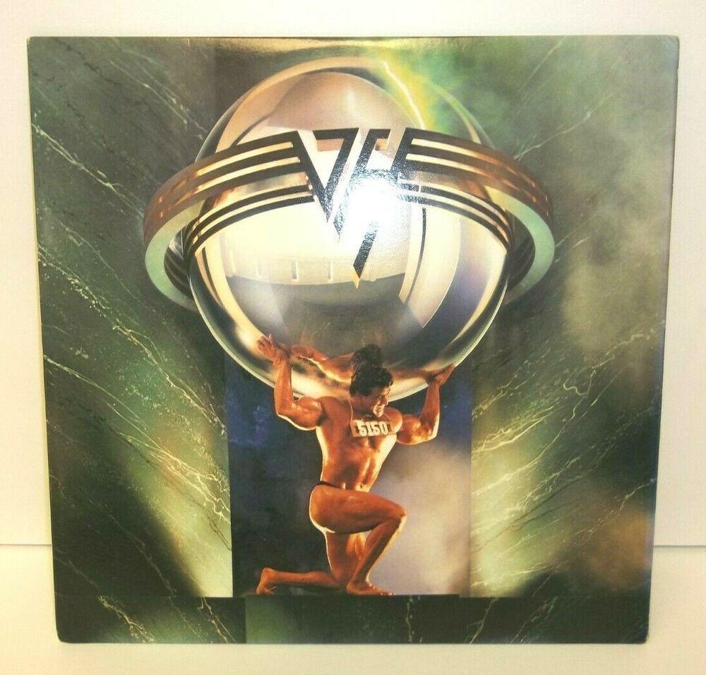 9 95 Vtg Van Halen 5150 Record Album Vinyl Lp Hagar Best Both Worlds Love Walks In With Images Van Halen Vinyl Ebay
