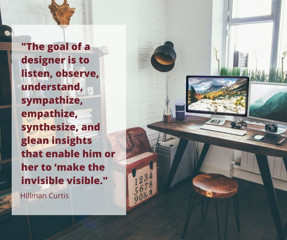Inspirational quote about interior design