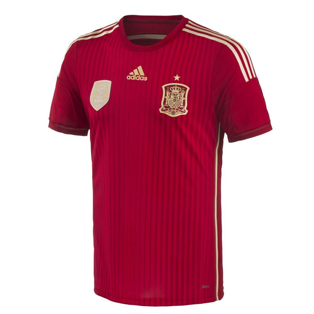 Camiseta Selección Española de Fútbol 2014 Adidas - Fútbol - Equipaciones  Oficiales - El Corte Inglés - Deportes 4c4d4dc60c461