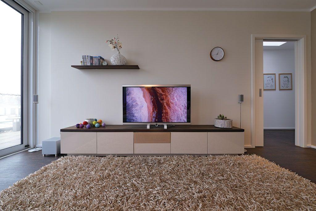 phono tv lowboard hell dunkel kontrast - Wohnzimmer Tv