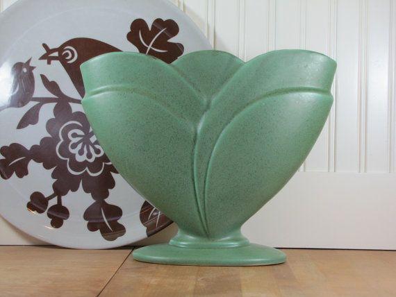 Xlarge Royal Haeger Vase Royal Haeger Vase Green Vase Royal