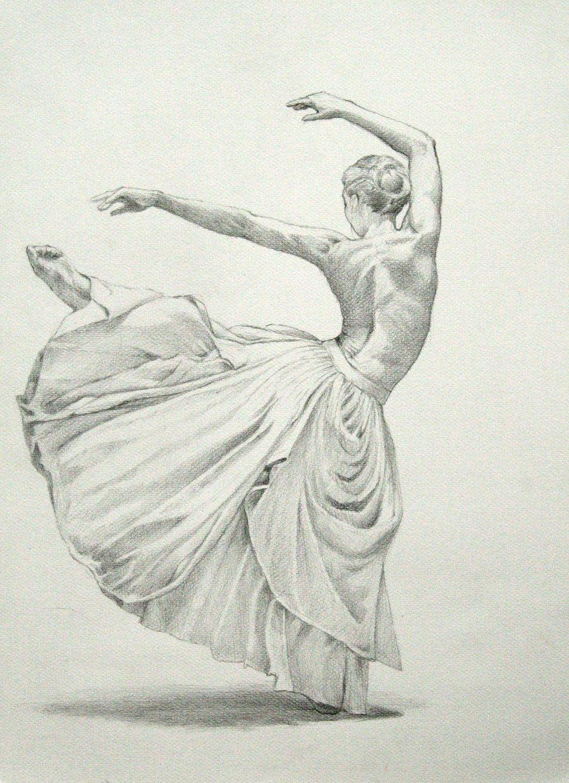 Dance by strooitje aka joeri van royen on deviantart pencil drawing drapery study of ballet dancer semi nude ballerina