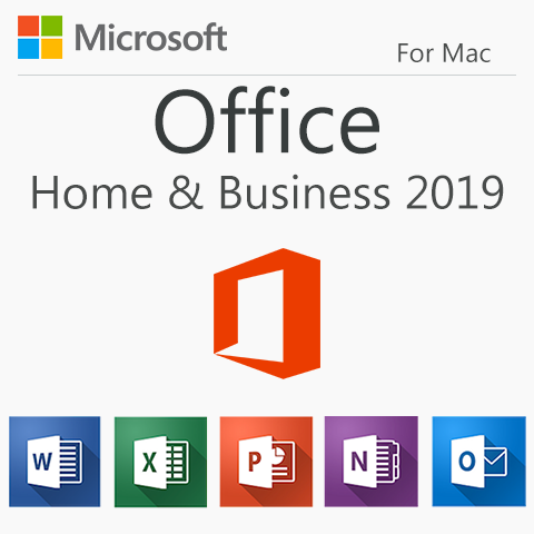 Microsoft Office Home and Business 2019 | 1 Device, PC/MAC