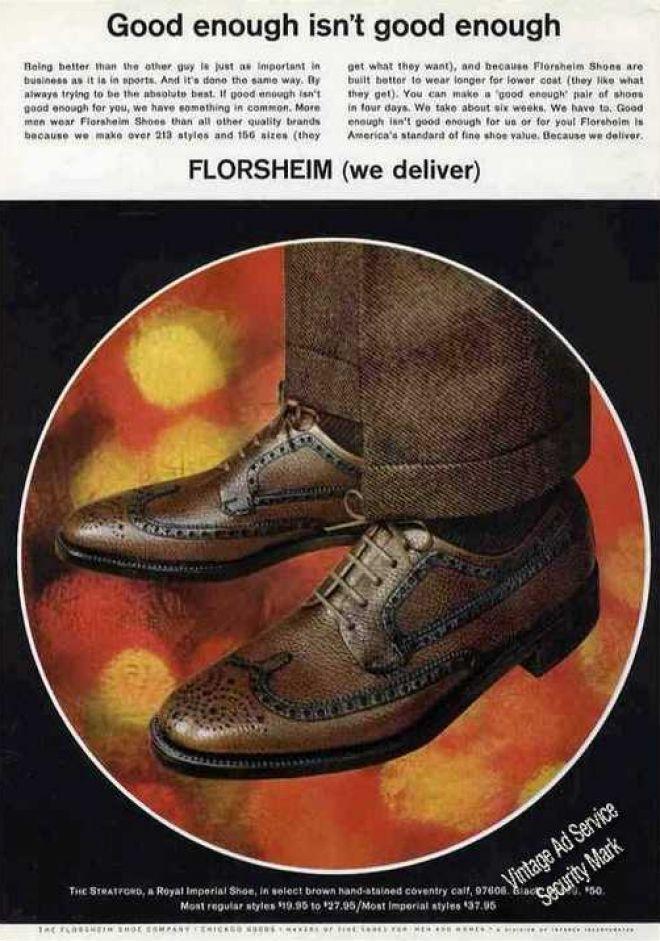 e90b002a9d363 1960 Fashion Men's Shoes | Florsheim