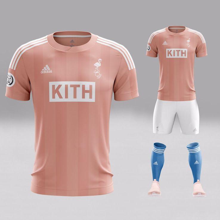 premium selection 15b40 c6325 Adidas KITH Flamingos full pink kit | Jerseys | Sports ...