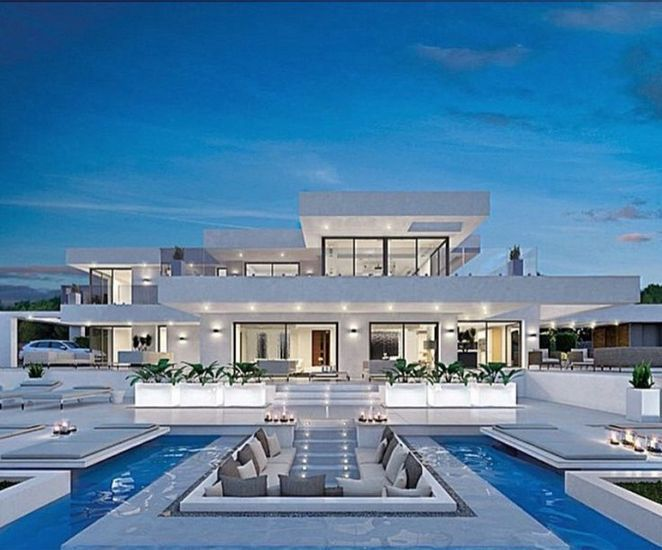 40 The Dream House Mansions Game Decoryourhomes Com Luxury Homes Dream Houses Architecture House Modern Mansion