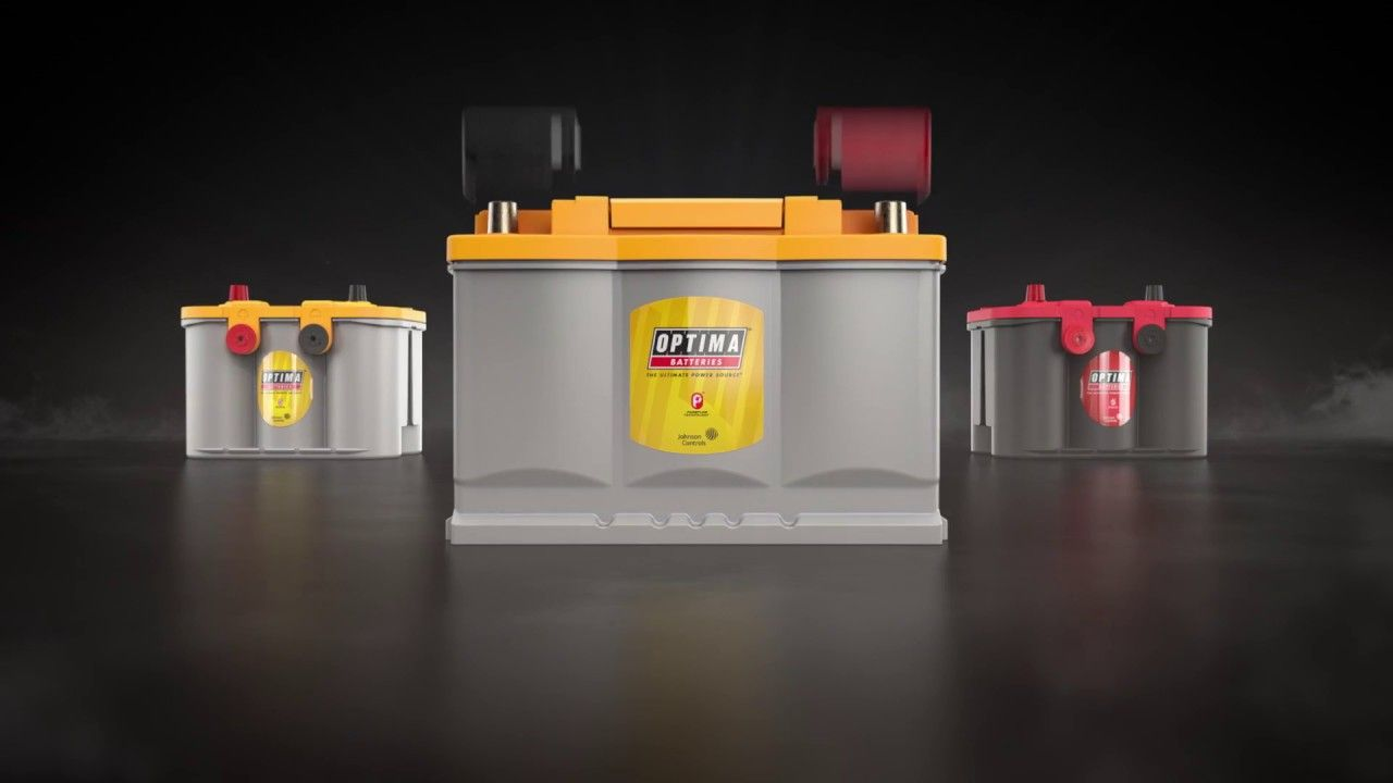 Optima h6 din yellowtop battery with pureflow technology