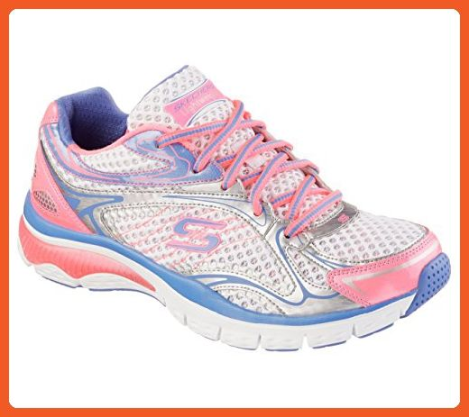 Skechers Relaxed Fit Infusion Neon Light Womens Sneakers White Pink Purple 7 5 Athletic Shoes For Women Womens Sneakers Skechers Relaxed Fit Sneakers Fashion