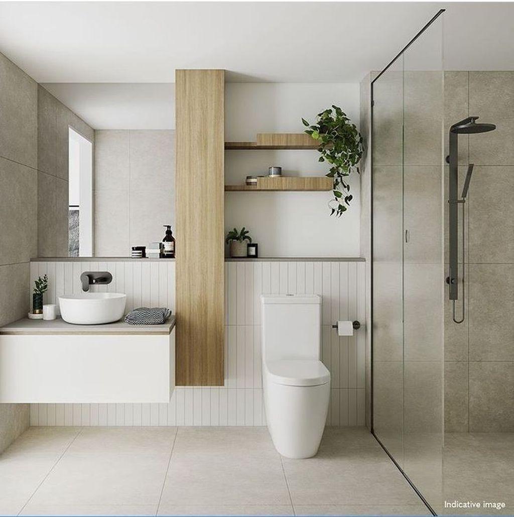 Pin On 02 Interior Private Minimalist bathroom decor idea