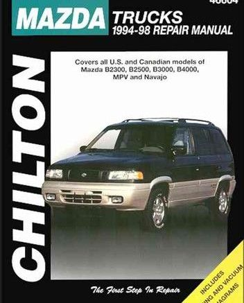 Free Download Mazda Truck Mpv Navajo 1994 1998 Repair Manual Pdf Scr1 Repair Manuals Mazda Repair