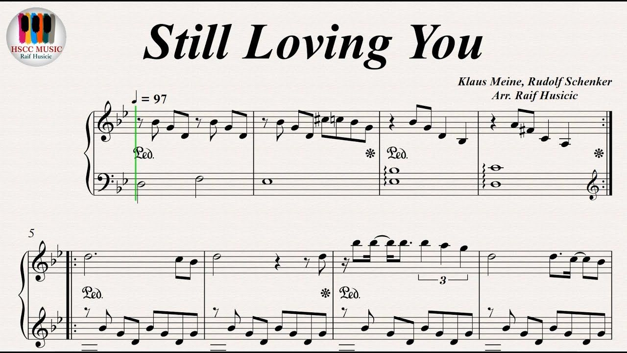 Still Loving You Scorpions Piano