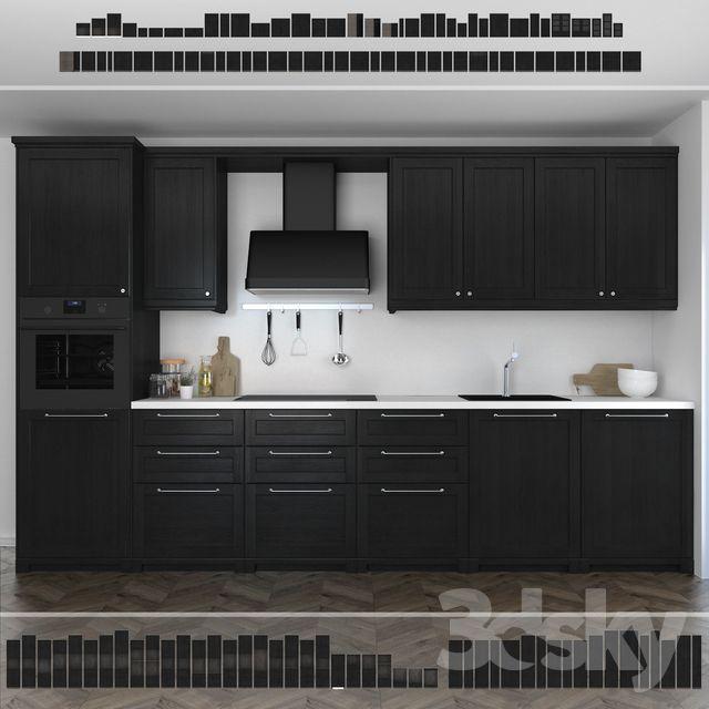 Kitchen Ikea Lerhuttan Lerhyttan Black Stain Abigail Amira