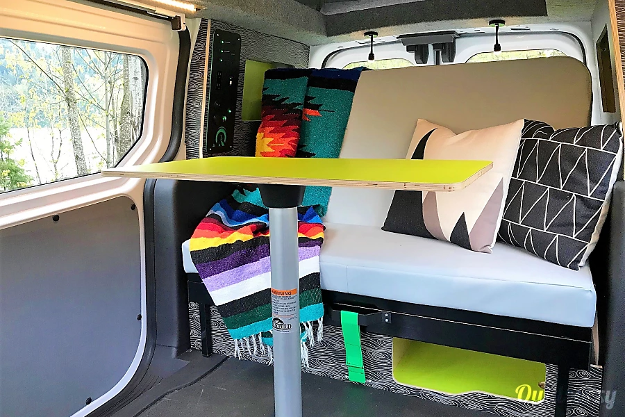 2018 Ford Transit Connect Motor Home Camper Van Rental in