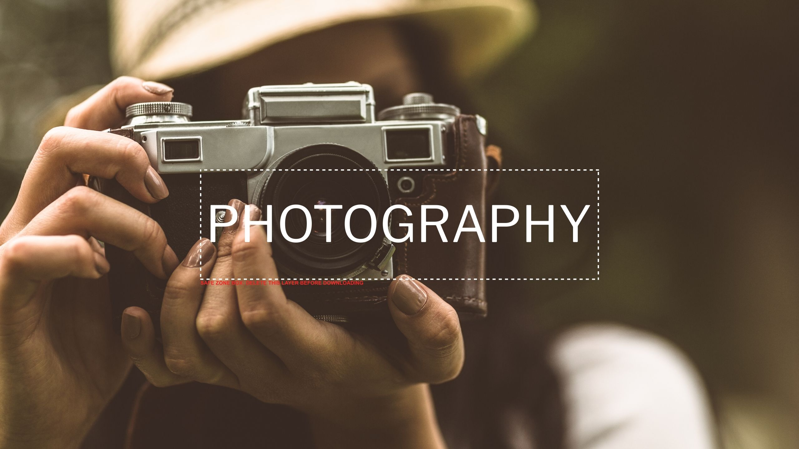 Customize this amazing photography themed YouTube cover template in ...