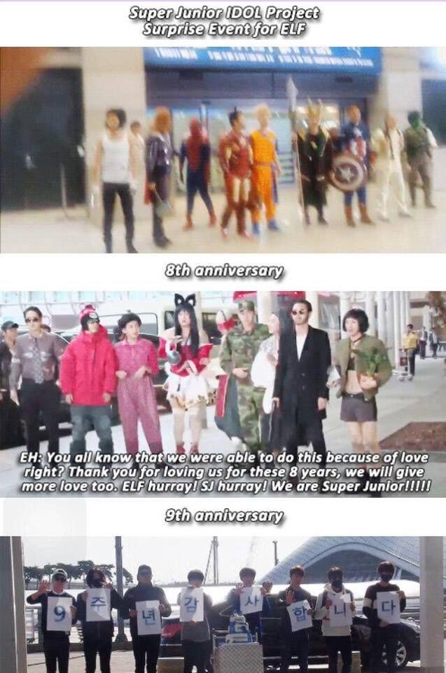 Best Idol And Fan Relationship By Super Junior X Elf