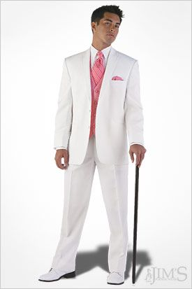 Cody wants a white tux lol. So, This is what he'll wear minus the ...