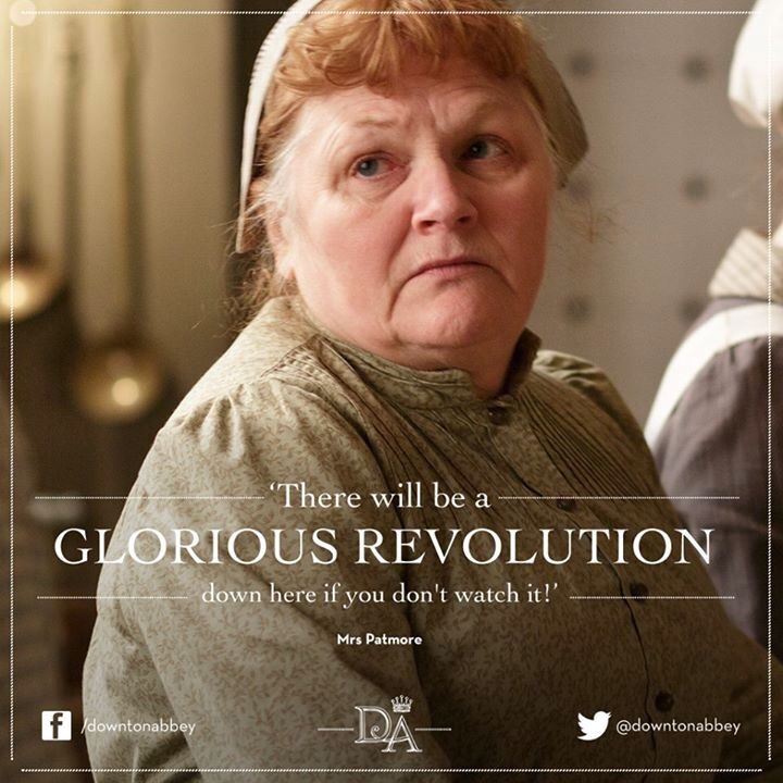 Mrs. Patmore   Downton abbey quotes, Downton abbey timeline ...