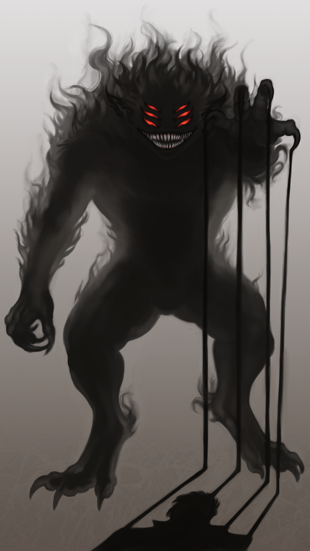 shadow monster mythology google search into a blackened shroud of