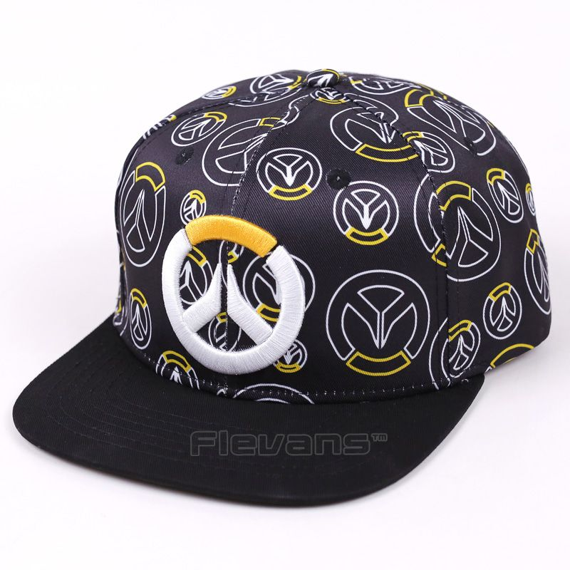 Game OW High Quality Baseball Caps Adult Men Women Fashion Snapback Hat  B-Boy Hip-Hop Cap Adjustable Hats 385793753eb9