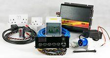 full electrical 12v & 240v camper van conversion wiring kit with 1000w  inverter